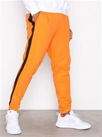 Topman Orange And Black Side Taping Joggers Housut Oranssi