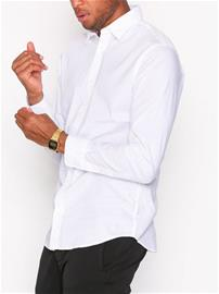 Jack & Jones Jjepoplin Shirt L/S Kauluspaidat Valkoinen