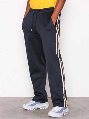 Topman Navy Taping Poly Tricot Joggers Housut Blue