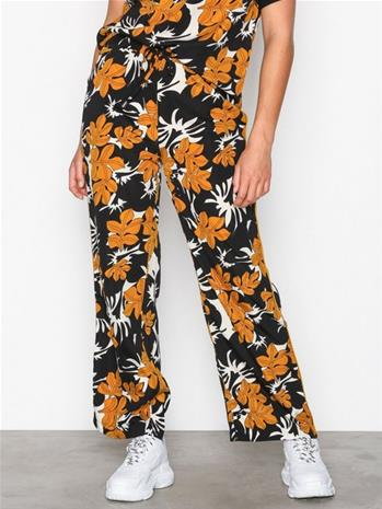 Sisters Point Valsi Pants Housut Pumpkin