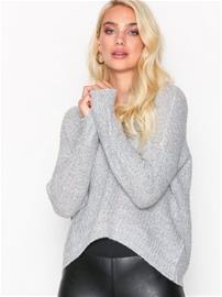 Jacqueline de Yong Jdymegan L/S Pullover Knt Noos Neuleet Valkoinen