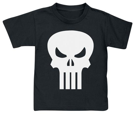 The Punisher Skull - Logo Lasten paita musta