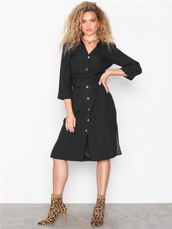 River Island Short Sleeve Dress Väljät mekot Black