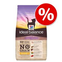 Hill's Ideal Balance No Grain kissanruoka 1,5 kg erikoishintaan! - Mature Adult, kana & peruna