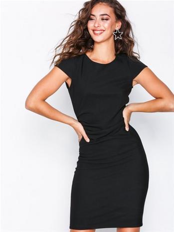 Vero Moda Vmjonie Cap Sleeve Abk Dress Noos Housut & Shortsit Musta