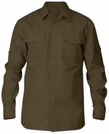 Fjällräven Singi Trekking Shirt LS #XL Dark Olive
