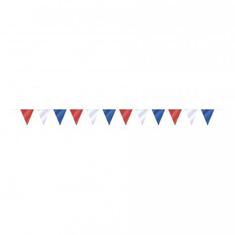 Flaggirlang Röd/Vit/Blå