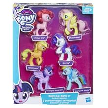 My Little Pony Meet The Mane 6 Ponies Collection