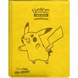 Pokemon PIKACHU 9-POCKET PREMIUM PRO-BINDER