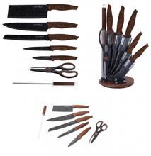 Knivset från Royalty Line, 8 delar, ljus träimitation