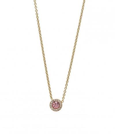 Bud to Rose Halsband Proud rosa/guld 40 cm