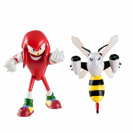 Sonic The Hedgehog Knuckles And Beebot