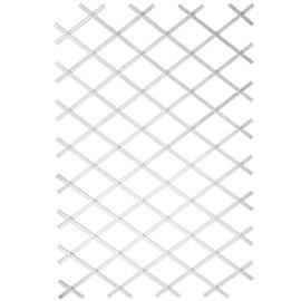 Nature Puutarhasäleikkö 100x200 cm PVC Valkoinen 6040703