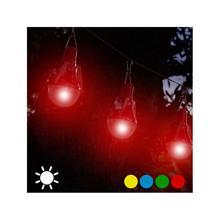 Solcellsglödlampa (4-pack), Grön