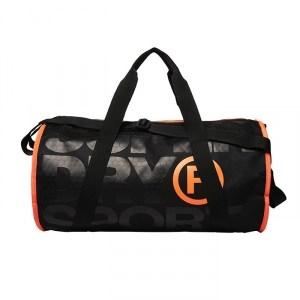 XL Sports Barrel, Black/Hazard Orange