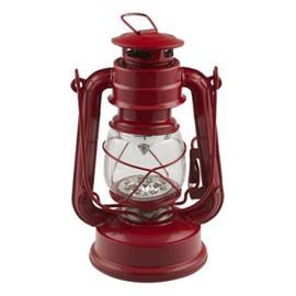 Kräftlykta Röd med LED - Kräftlykta