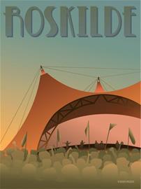 Vissevasse - Roskilde Festival Poster 30 x 40 cm