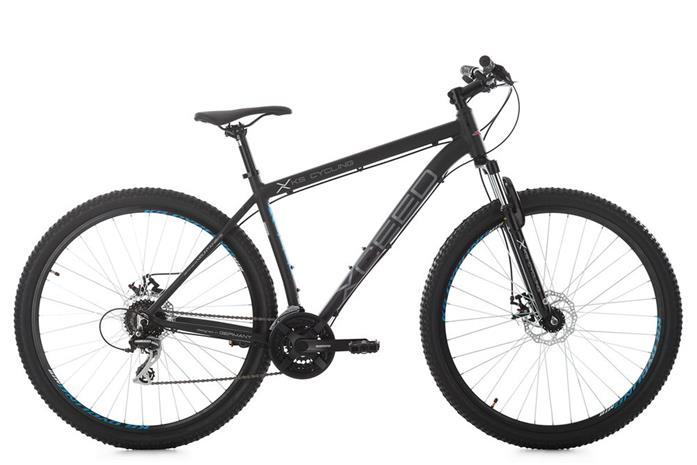 "29"" Mountain Bike Hardtail ""XCEED"" Black 21 Speed Aluminium Frame New 247M"