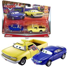 Christina Wheeland & Jay. W pack - Cars2 bilar original