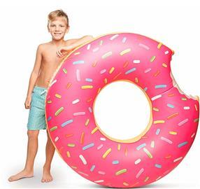 Gigantisk Badring - Frosted Donut