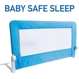 Tatkraft Guard Taitettava Turvalaita Lastensänkyyn 120 cm Easy Fit Turvalaita lapsille / taaperoille Sininen, Lujatekoinen ja vankka