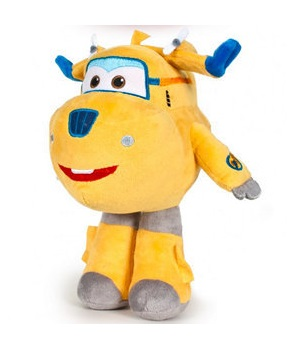 Super Wings Mjukis 18 cm DONNIE