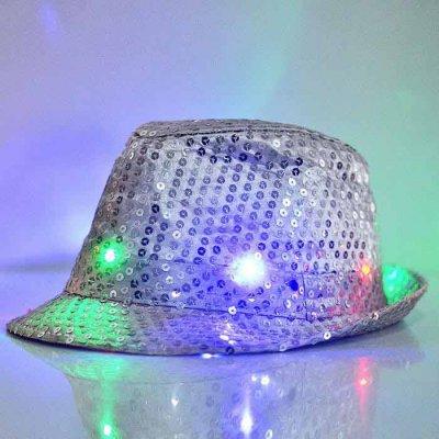 Trilby Hatt - Silver - LED Lampor