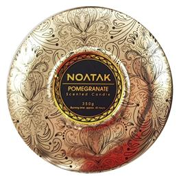 Scented candle Noatak Pomegranate 3-wick tin jar