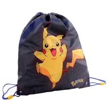 Pokemon - Gympapåse - Sportsbag - Pika Pika