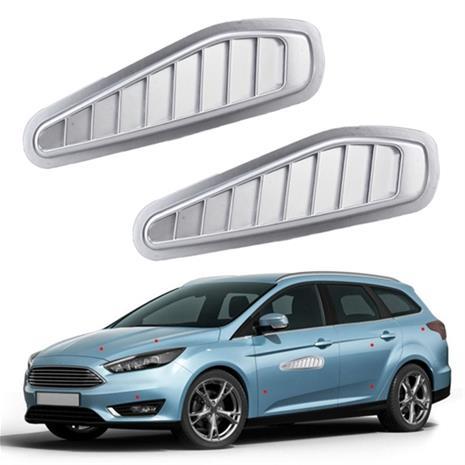 Koristeelliset ilmanottoaukot autoon 2-pakkaus, CarCareAndService