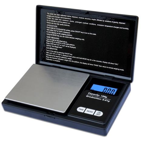 100g/0.01g LCD Display Digital Jewelry Scale Digital Milligram Scale
