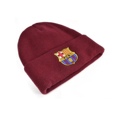 FC BARCELONA TURN UP HAT BURGUNDY