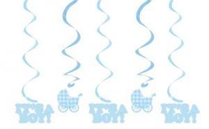Girlanger - Baby Boy - Blue