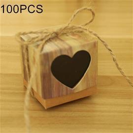 Illalliskoristeet 100-pakkaus - Musta sydän, Toys