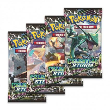 Pokemon Sun & Moon 7: Celestial Storm Booster 1st
