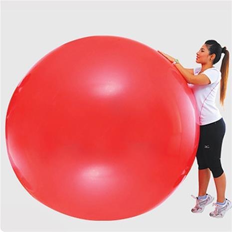 Super Suuri Party-pallo Lateksia 180cm PUNAINEN, PartyBalloonsAndDecor