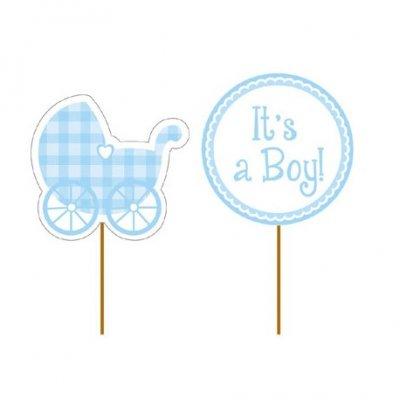 Cake Picks - Baby Boy