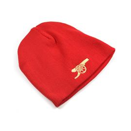 ARSENAL BEANIE HAT RED CANNON