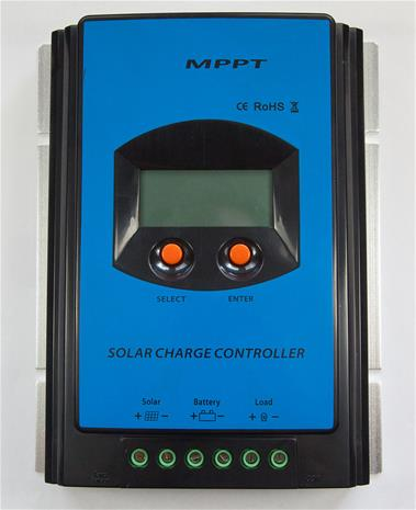 Aurinkopaneeli lataussäädin MPPT 30A Digital 12/24V