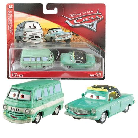 Disney Pixar Cars - Dusty Eze & Rusty Eze - 2 pack