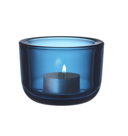 Iittala Valkea kynttilälyhty 60mm turkoosi