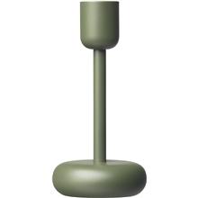 Iittala Nappula kynttilänjalka 183mm samm. vihr.
