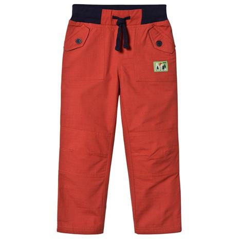 Red Cargo Trousers2-3 years