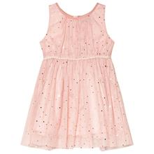 Pink Sleeveless Dress With Golden Dots104 cm (3-4 v)