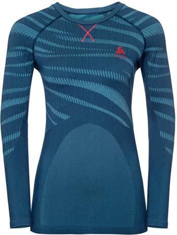 Odlo Suw Performance Blackcomb Naiset alusvaatteet , sininen