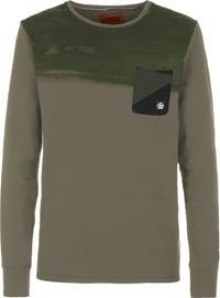 E9 Stripe On Miehet Pitkähihainen paita , beige
