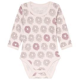 Baloo Kuvioitu Baby Body Vaaleanpunainen56 cm (1-2 kk)