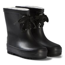 Shoes Kumisaapas Vuorilla ja nauhoilla Black32 EU