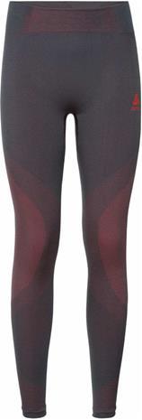 Odlo Suw Performance Warm Naiset alusvaatteet , harmaa/vaaleanpunainen