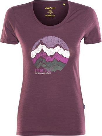 Meru Enköping Naiset Lyhythihainen paita , violetti